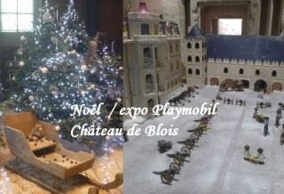 Noël au château de Blois Playmobil visite tourisme