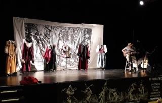 LA COMMEDIA DELL'ARTE avec Le Theatro  loches