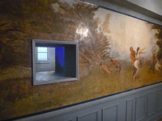 etoile bleue maison close tours art deco fresque erotique